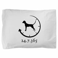 Redbone Coonhound Pillow Sham