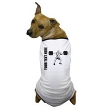 Power Lifting Dog T-Shirt