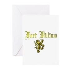 Fort William. Greeting Cards (Pk of 10)