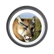 Florida Panther Wall Clock