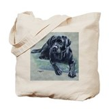 Classic Black Lab Tote Bag