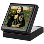 Mona Lisa/Rottweiler Keepsake Box