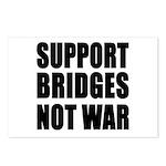 Support Bridges Not WAR Postcards (Package of 8)