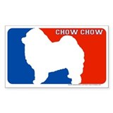 """Chow Chow"" MLD Rectangle Decal"