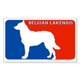 """Belgian Laekenois"" MLD Rectangle Decal"