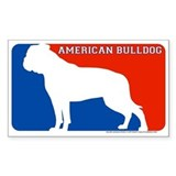 """American Bulldog"" MLD Rectangle Decal"