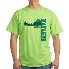 Kayaker (Blue) T-Shirt