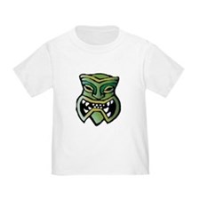 Green Tiki Head T