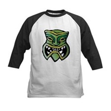 Green Tiki Head Tee