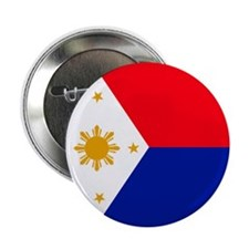Philippines flag button (100 pack)