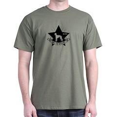 Obey the WHIPPET! logo Dark T-Shirt