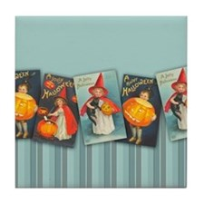 TLK020 Halloween Borders Tile Coaster
