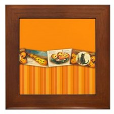 TLK020 Halloween Borders Framed Tile