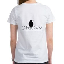 crow design ladies Tee