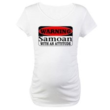 Warning! Samoan w/ an Attitud Shirt