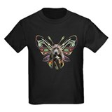 Pit Bull Butterfly Art T