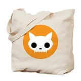 Cat Skull  Tote Bag