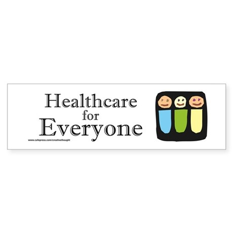 Universal Health care (Bumper)
