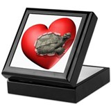 Tortoise Heart Keepsake Box