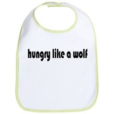 Hungry Like a Wolf Bib