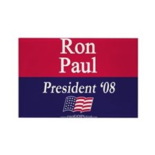 """Ron Paul for President"" Rectangle Magnet"