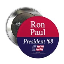 """Ron Paul for President"" 2.25"" Button (10)"
