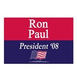 """Ron Paul for President"" Postcards (8)"
