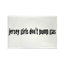 Jersey Girls Rectangle Magnet