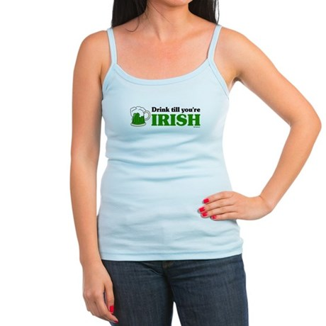 Drink till you're Irish Jr. Spaghetti Tank
