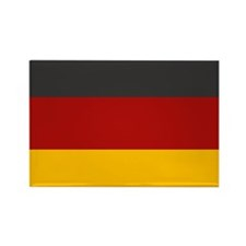 """Germany Flag"" Rectangle Magnet (100 pack)"