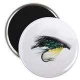 English Salmon Streamer 2.25&quot; Magnet (10 pack)