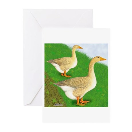 Goose and Gander Greeting Cards (Pk of 10)