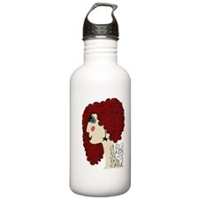 Curly Hair Just Don't Care Water Bottle