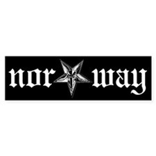Nor*Way bumper sticker