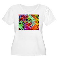 """""""Mosaic"""" Fractal Art T-Shirt"""