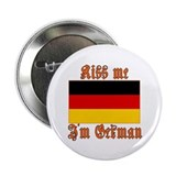 "Kiss Me I'm German 2.25"" Button (100 pack)"