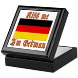 Kiss Me I'm German Keepsake Box