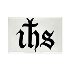 IHS Jesus Monogram Rectangle Magnet
