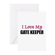 I Love My GATE KEEPER Greeting Cards (Pk of 10)