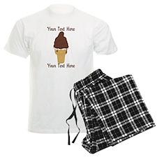 PERSONALIZED Chocolate Dip Ic Pajamas