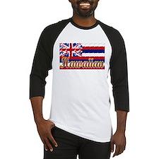 Hawaiian Styling Flag Baseball Jersey