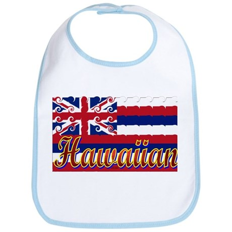 Hawaiian Styling Flag Bib