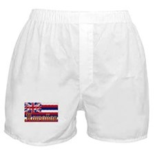 Hawaiian Styling Flag Boxer Shorts