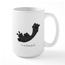 Rolling Black Alpaca Mug