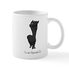 Standing Black Alpaca Mug Mugs