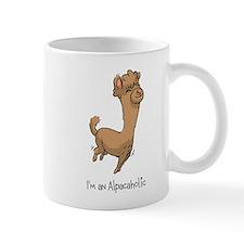 Bouncing Brown Alpaca Mug