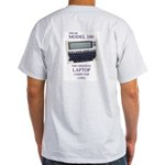 Ash Grey T-Shirt ... the original laptop computer