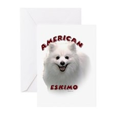 American Eskimo Greeting Cards (Pk of 20)