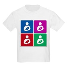 Pop Breastfeeding Icon T-Shirt