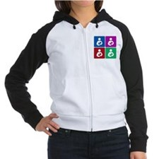 Pop Breastfeeding Icon Women's Raglan Hoodie